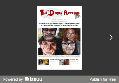 The Devils' Advocate – Issue 1