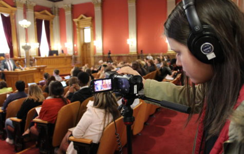 Student journalists question and compete at Capitol Hill