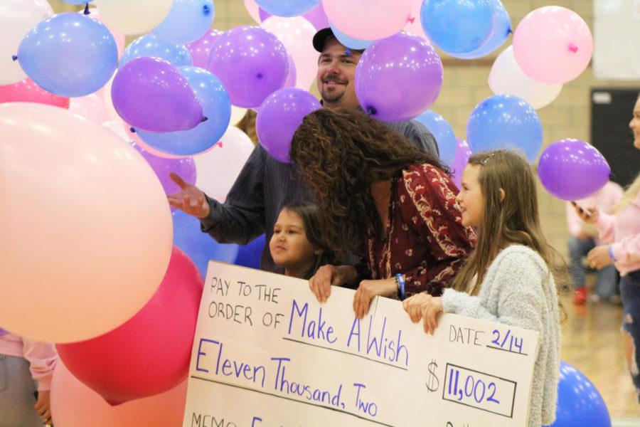 Eagle Valley High Shool raises $11,000 to fullfill local Jada Ray's Make-a-Wish