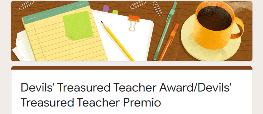 An+Award+to+Recognize+Our+Teachers