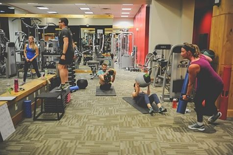 Before COVID-19, Endorphin members worked out more closely at an early morning class.