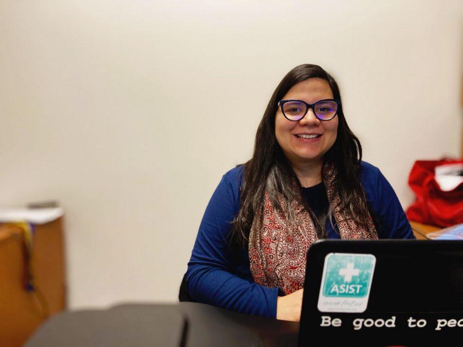 Ms. Sandra Macias is Eagle Valley's full time