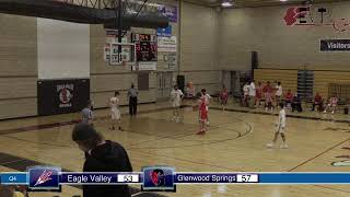 Boys Basketball loses close game to Glenwood Springs