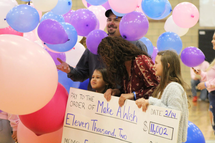 Eagle Valley High Shool raises $11,000 to fullfill local Jada Ray's Make-a-Wish