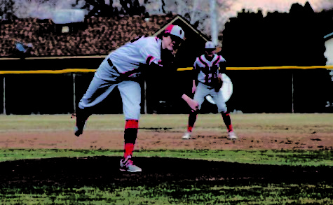 Gabe Foster '20 tosses gem in Eagle Valley's 5-0 shutout win over Cedaredge.