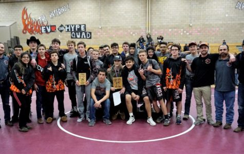 Wrestling team wraps up season finishing third place at state tournament