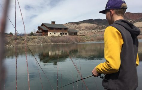 One of the best parts of living in Eagle County is access to all of the incredible outdoor activities. Cooper Treu '21 enjoys fishing in Dotsero with his family and friends.