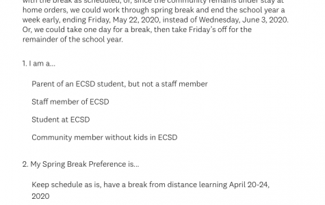 Eagle County Schools surveys community about upcoming Spring Break
