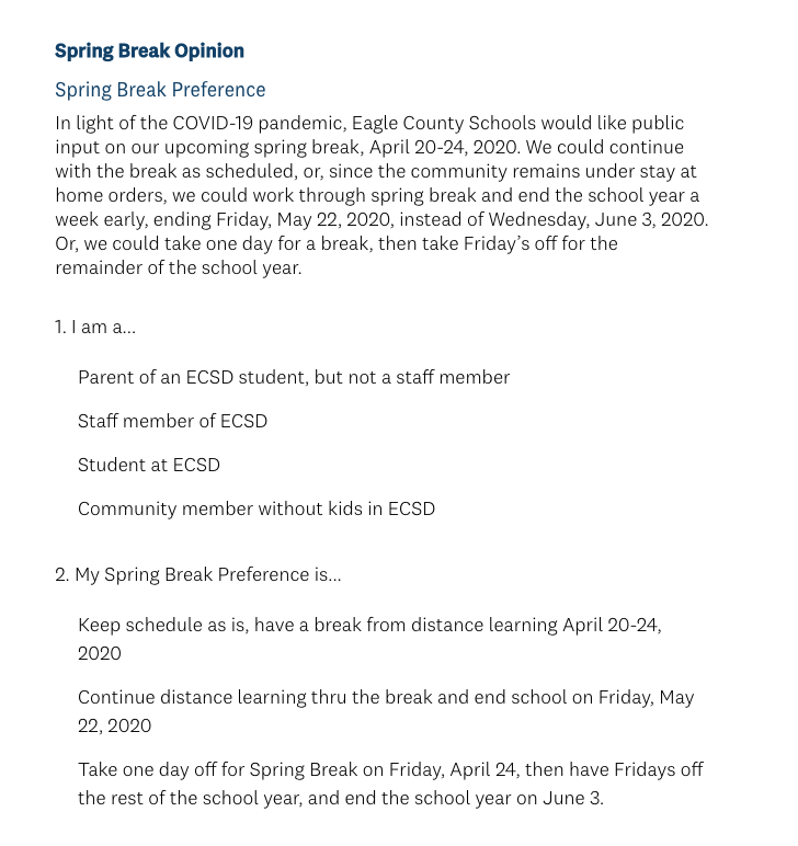 Eagle+County+Schools+surveys+community+about+upcoming+Spring+Break