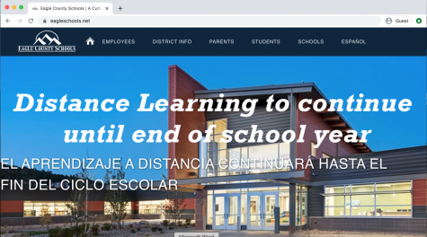 Eagle County Schools continues adjustment to online learning