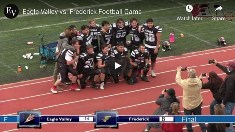 Football beats Frederick High School