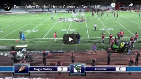 Football loses in Home Opener against Conifer