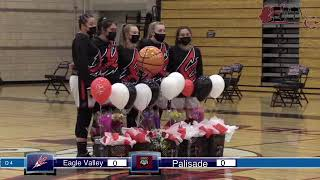 Girls Basketball Senior Night ends in loss to Palisade