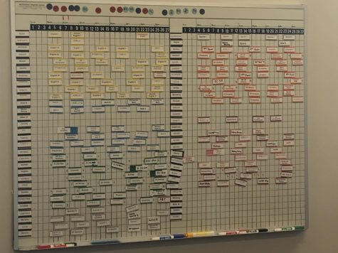 The carefully organized hybrid flex mod schedule was created to address the health, safety, and logistical needs of Eagle Valley High School for the 2020-21 school year.