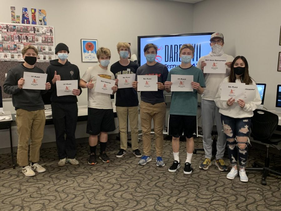 Films were screened in the Media Lair on Friday and awards were presented afterwards.
